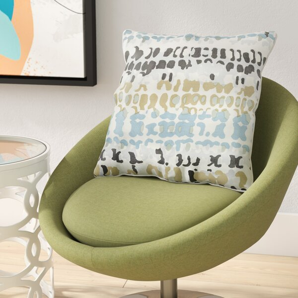 Villa Square 100% Cotton Pillow Cover by Zipcode Design